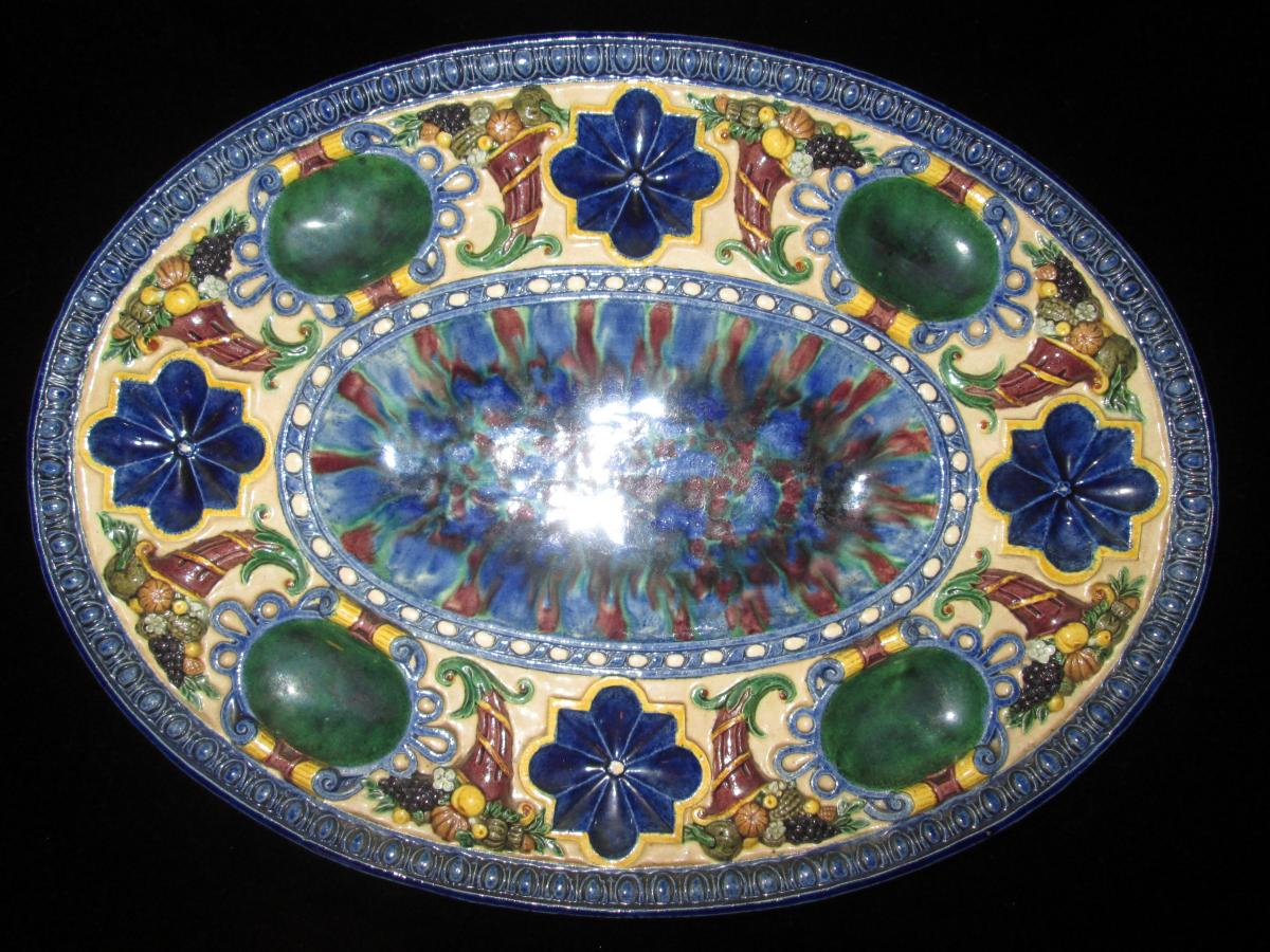 Dish Of Georges Pull (1810-1889)