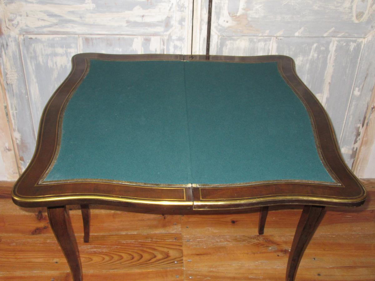 Table à Jeu Napoléon III-photo-4