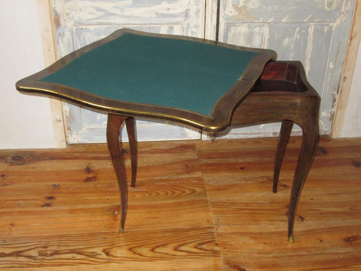 Table à Jeu Napoléon III-photo-1