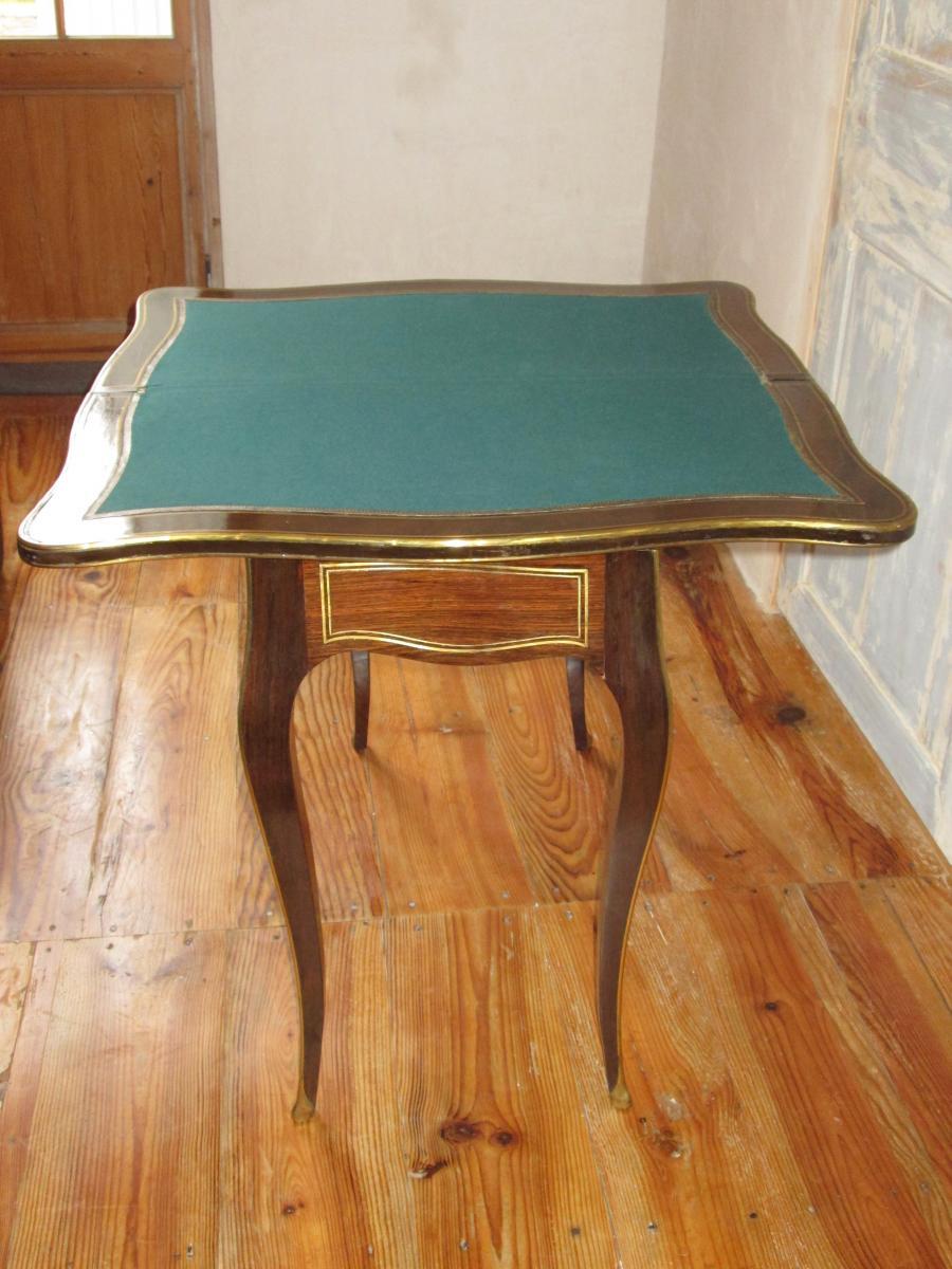 Table à Jeu Napoléon III-photo-2