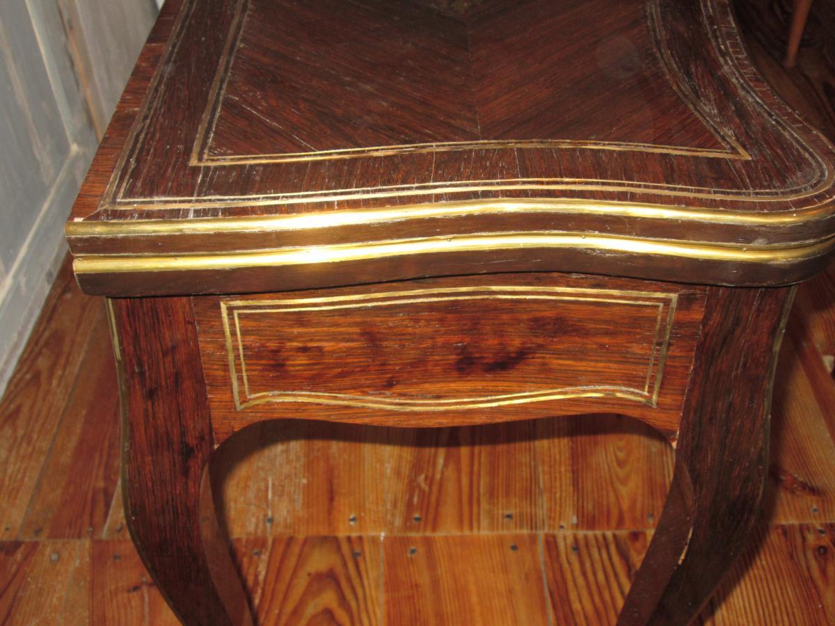 Table à Jeu Napoléon III-photo-5