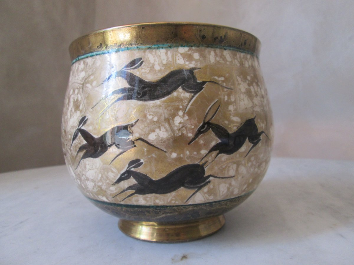Vase De Jean Mayodon(1893-1967)