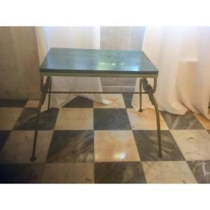 Table Basse En Fer Battu Année 40