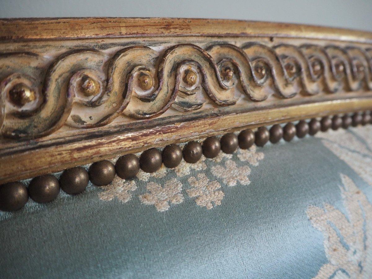 Lit De Style Louis XVI,  pour matelas de 140 x 200 cm-photo-5