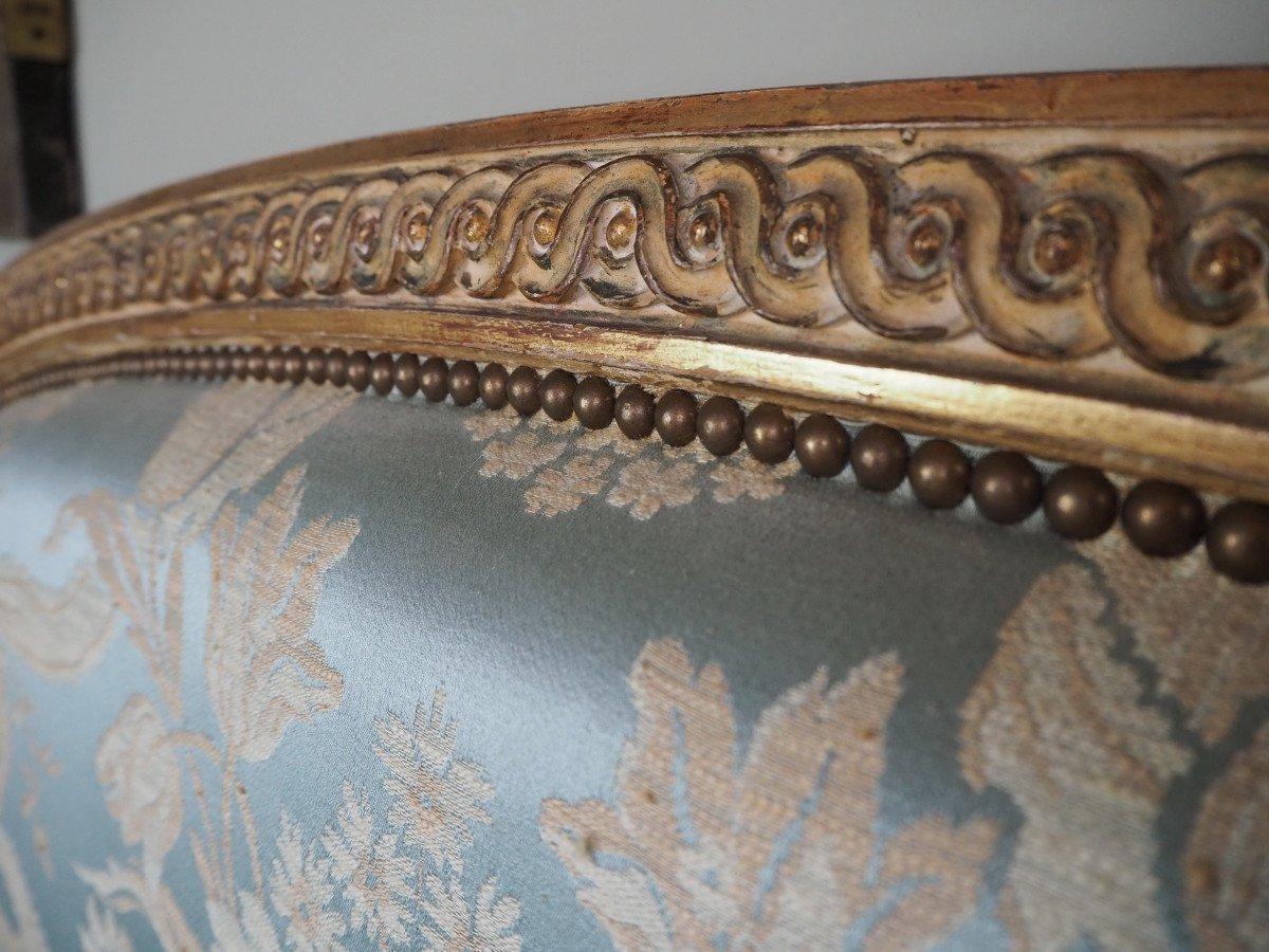 Lit De Style Louis XVI,  pour matelas de 140 x 200 cm-photo-6