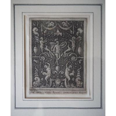 Gravure 'mars', Avant 1573, Etienne Delaune
