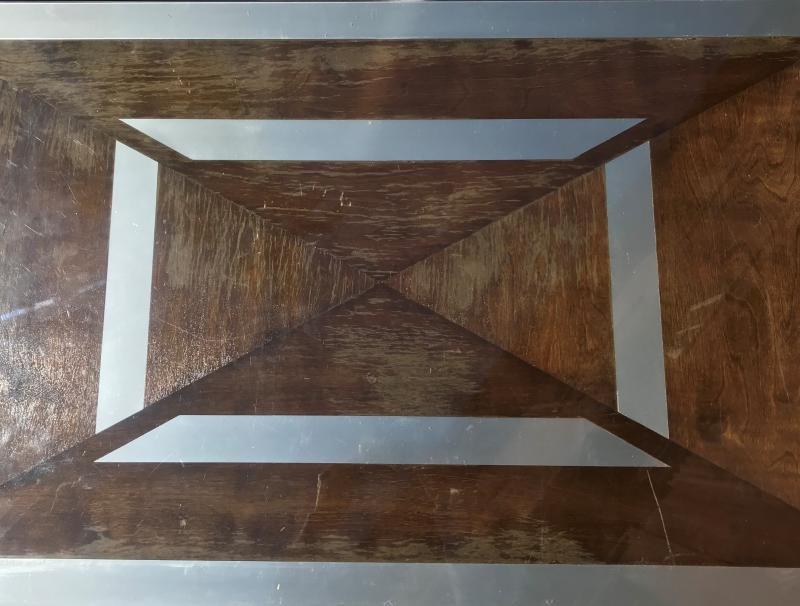 Table Basse  Maison Jansen Des Années 70-photo-4