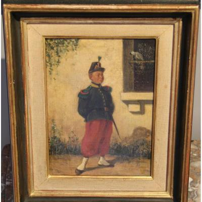 Painting H / T De Pascual Ortega Nineteenth