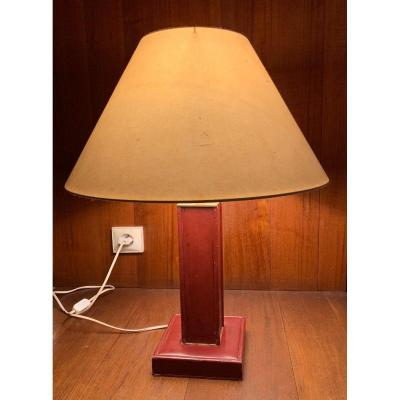 Lampe Cuir Dupré Lafon