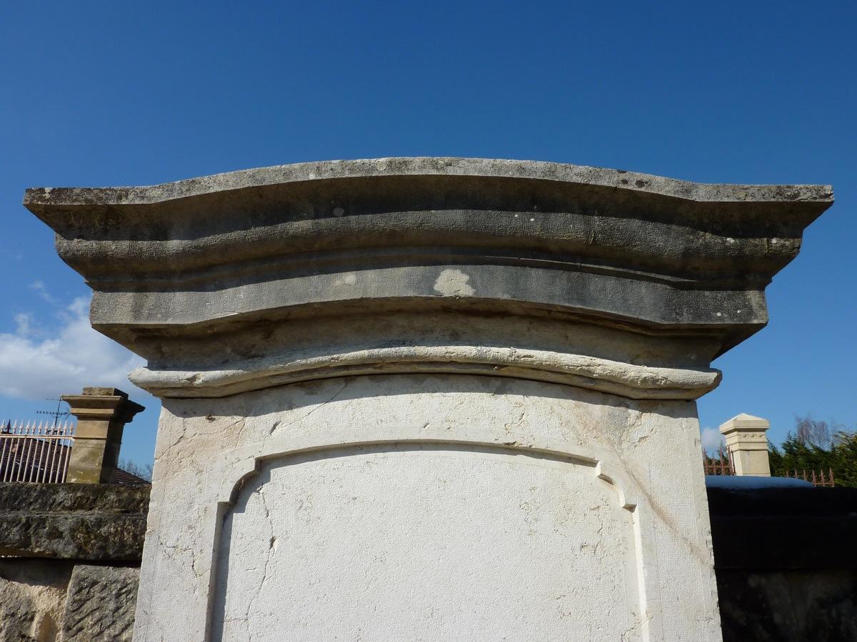 Fontaine En Pierre d'époque XIXe Siècle-photo-3