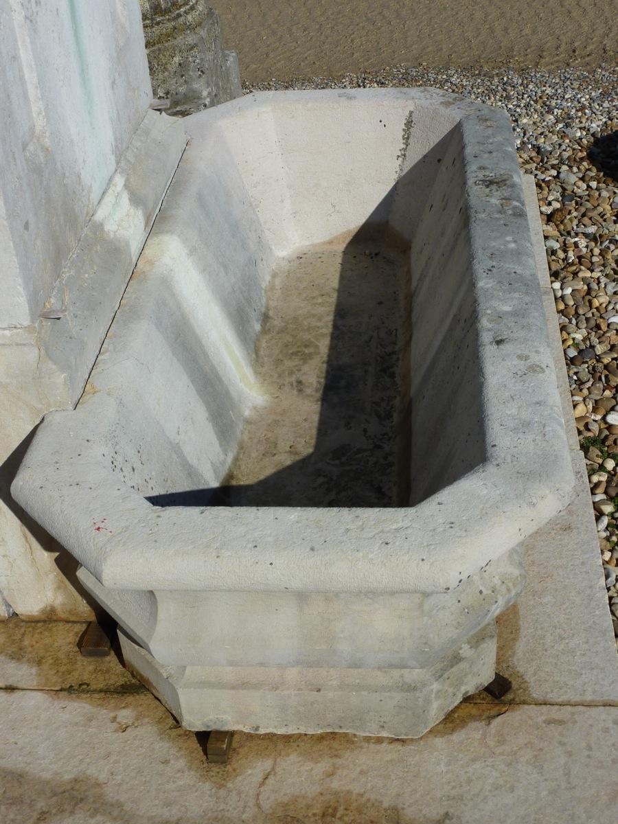 Fontaine En Pierre d'époque XIXe Siècle-photo-1