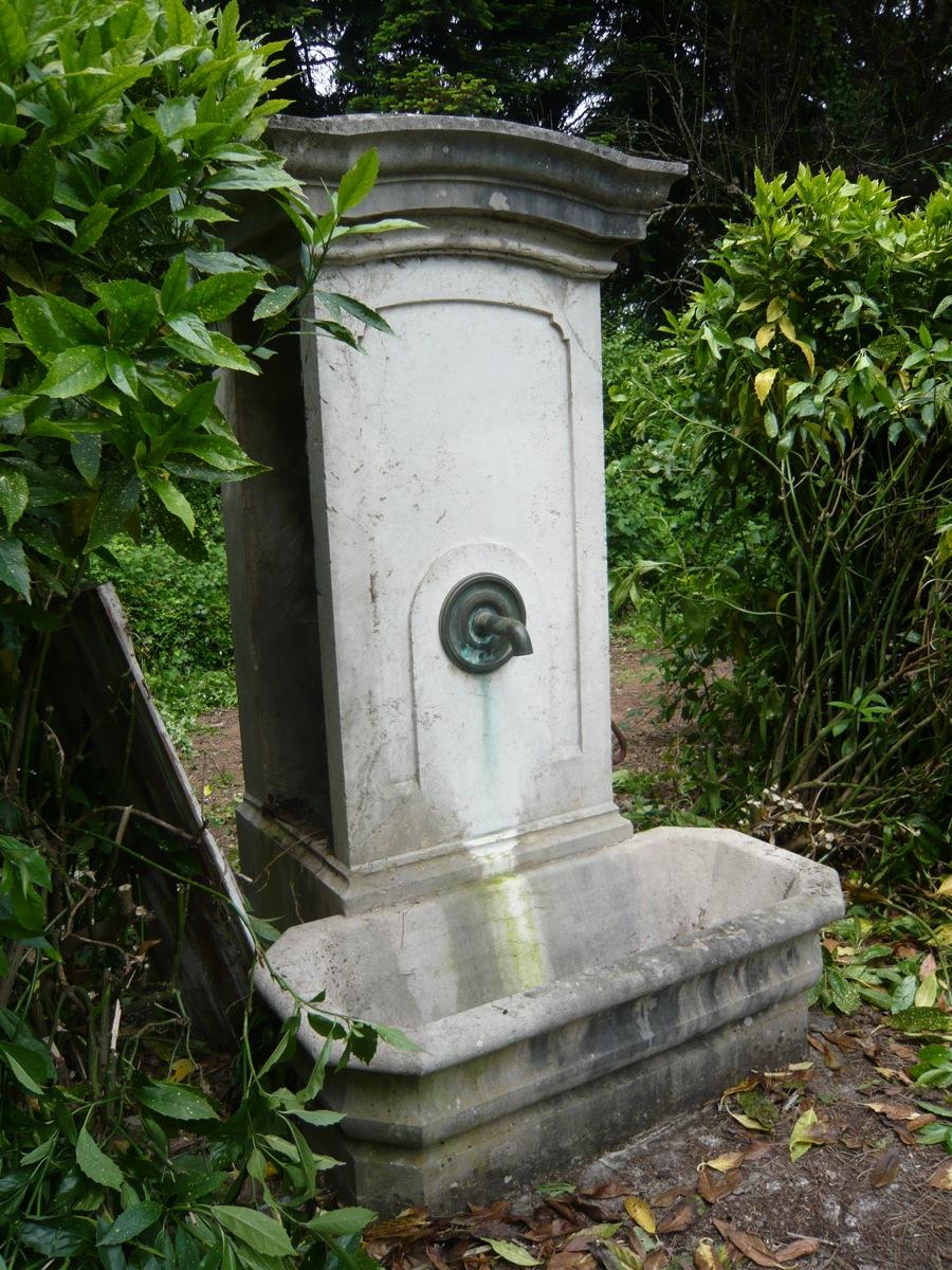 Fontaine En Pierre d'époque XIXe Siècle-photo-4
