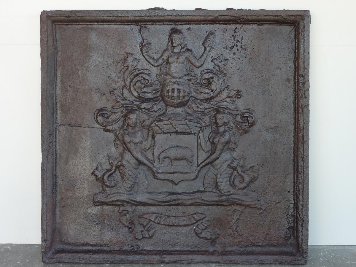 Jacques De Berbisey's Fireplace Plate