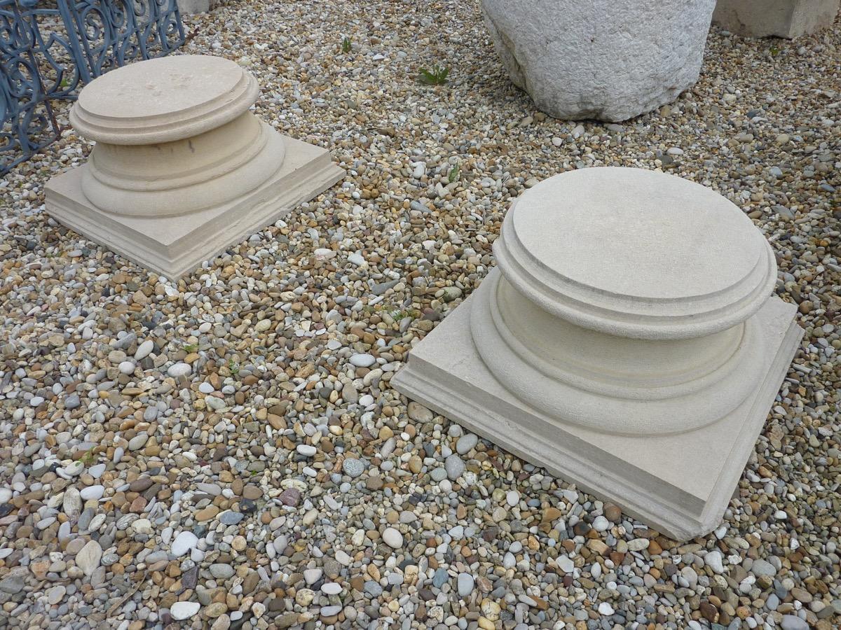 socle en pierre de bourgogne colonnes sellettes. Black Bedroom Furniture Sets. Home Design Ideas