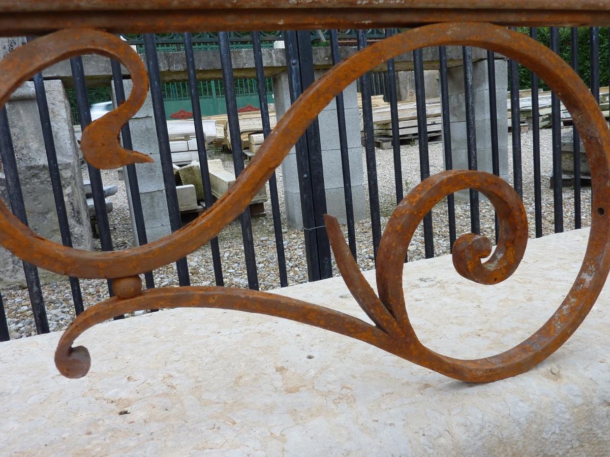 Appuits De Fenêtre Fer Forgé Art Nouveau-photo-4