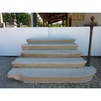 Escalier En Pierre Dure De 10 Niveaux