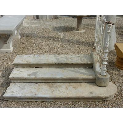 Escalier, Perron en pierre