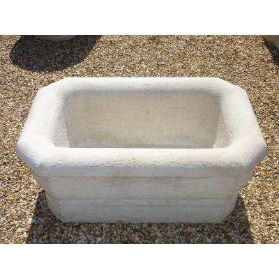 Fountain Basin Hard Stone Dating From The Nineteenth Century