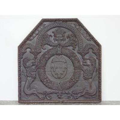 Fireplace Plate Dated 1600