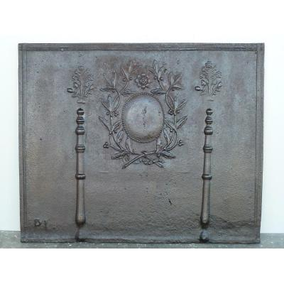 Louis XVI Period Fireplace Plate