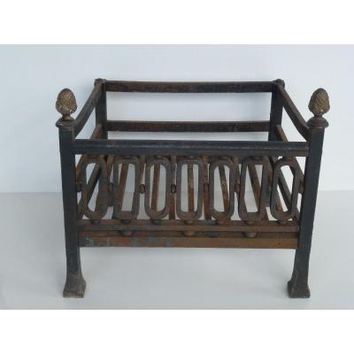 Small Wrought Iron Fire Pan