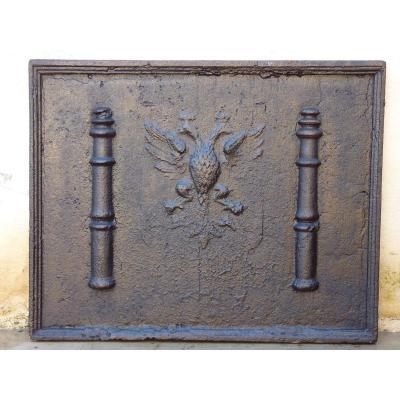 Plate Fireplace Seventeenth S.
