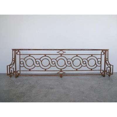 Pair Of Railings Forged In The 18th Century