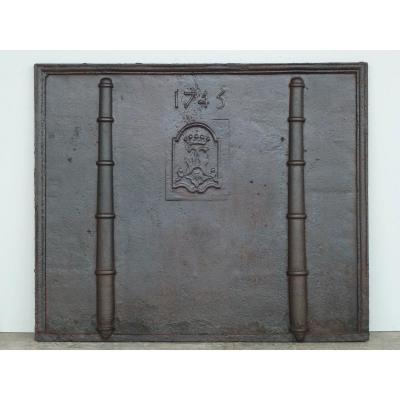 Fireback Dated 1745