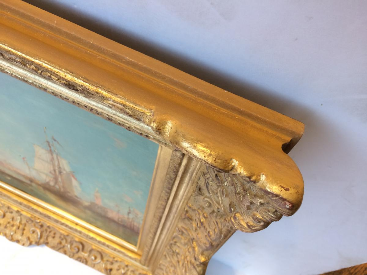 Leopold Ziller Views Of Venice And Istanbul In Pair - 19th Century Paintings-photo-4