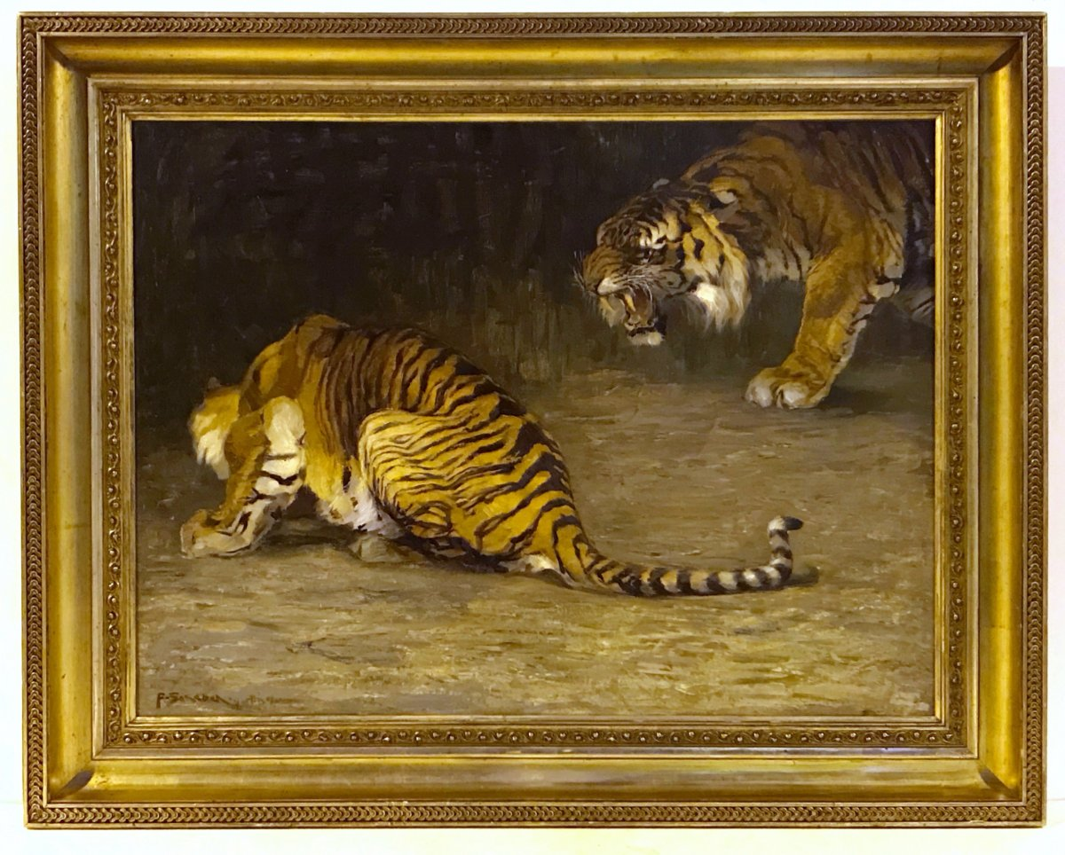 Ferdinand Schebek (1875 - 1949)  - Tigers