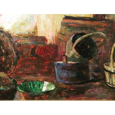 Octave-victor-denis Guillonnet (1872-1967) - Still Life