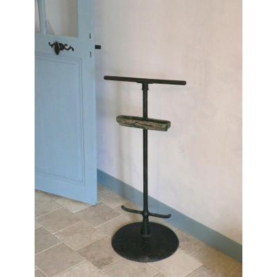 """mobilier des beaux art ,support à dessin dit """"perroquet"""" en fonte et bois."""