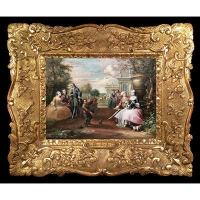Le Mariage Du Comte d'Artois Au Grand Trianon Par H.-j. Van Blarenberghe, 1773