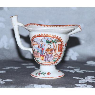 Pot à Lait En Forme D'aiguière - Compagnie Des Indes Vers 1770-1780