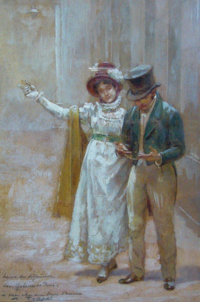 Couple à la Belle Epoque, Théophile Poilpot