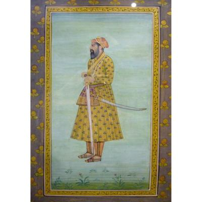 Portrait Of Dignitary, Mughal India