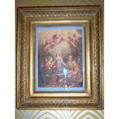 Représentation de la Sainte Famille