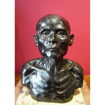 Bronze Bust, Indochinese School