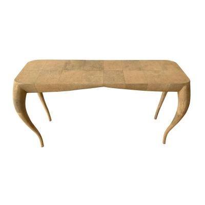 Table Console Moderne En Galuchat Par R&Y Augousti, Paris, France