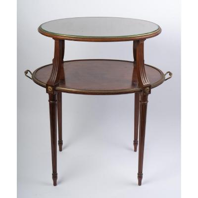 Table Volante Service Du Thé Style Louis XVI 19ème Siècle