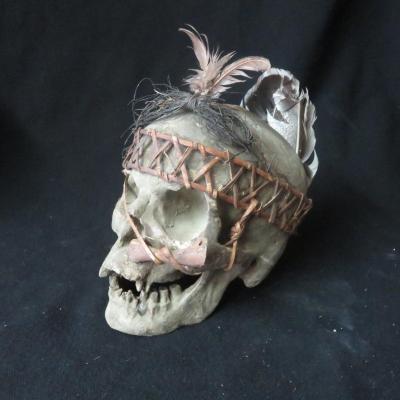 Skull Ifugao Ritual