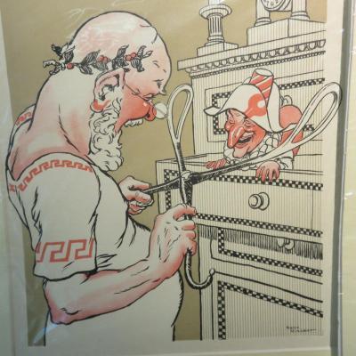 René Vincent S'est Laché, Humorous Medical Caricatures