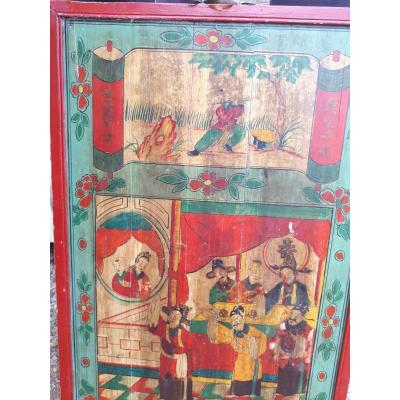 Chinese Closed Bed Door