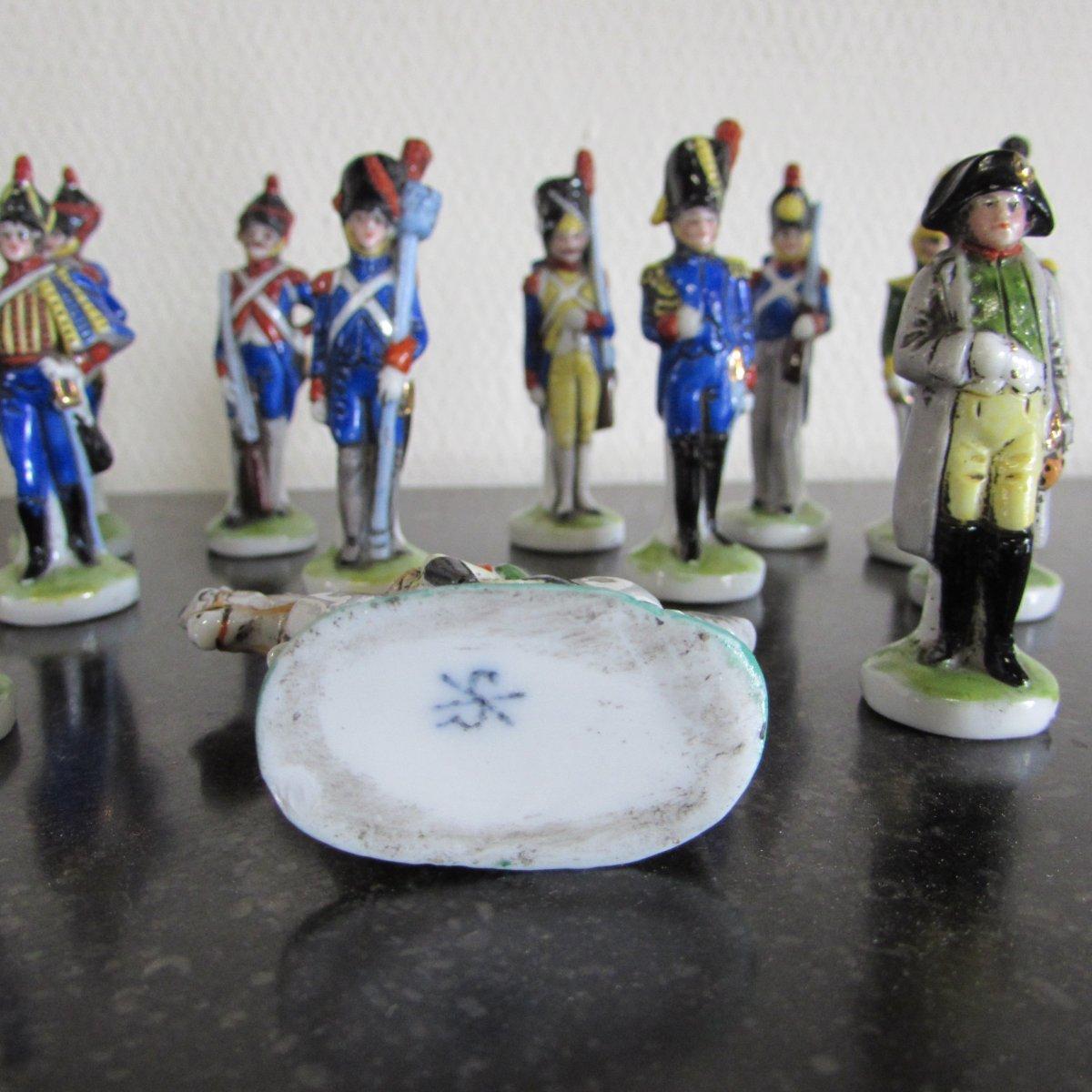 Soldiers Empires, Napoleon Procelaine German