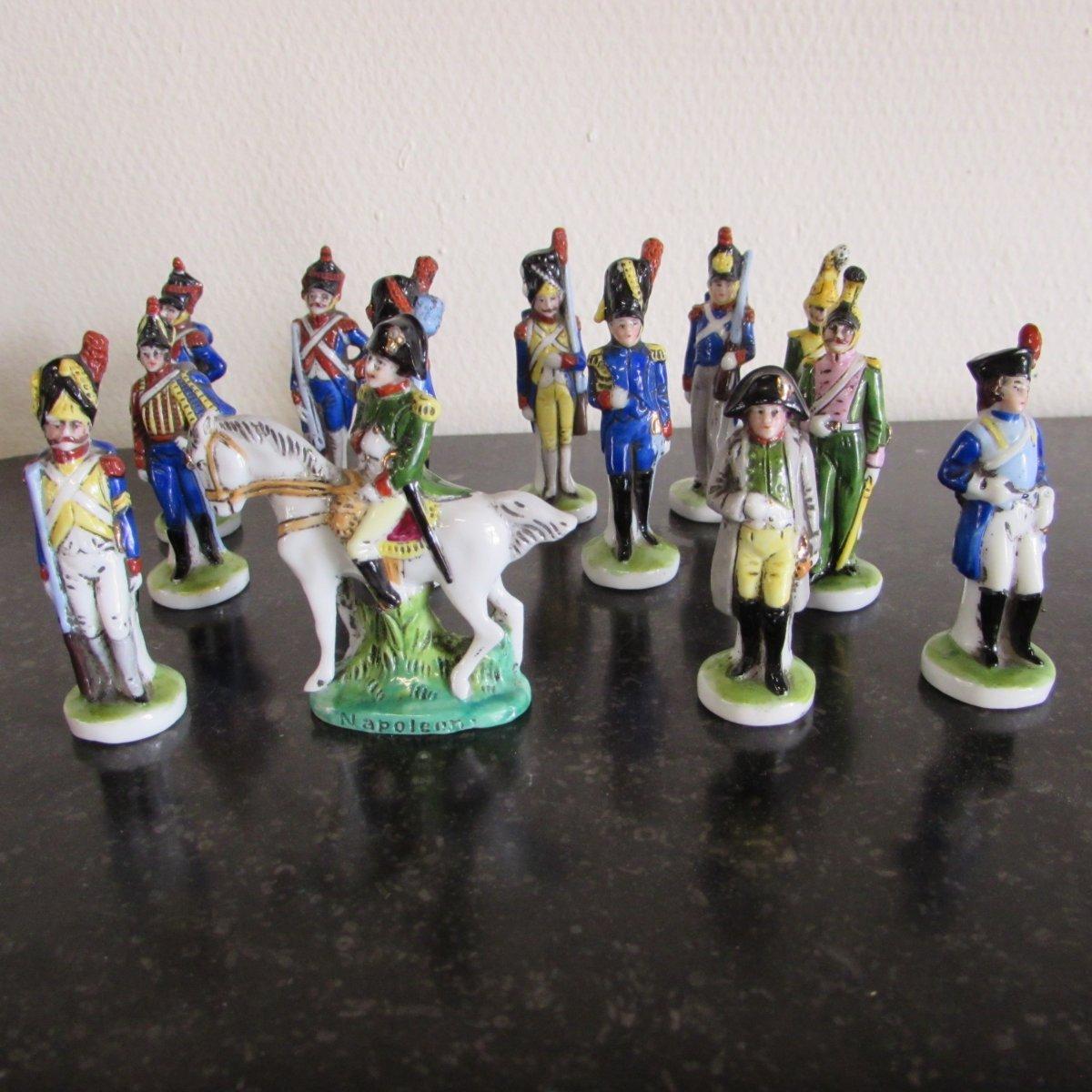 Soldats Empires , Napoléon Procelaine Allemande