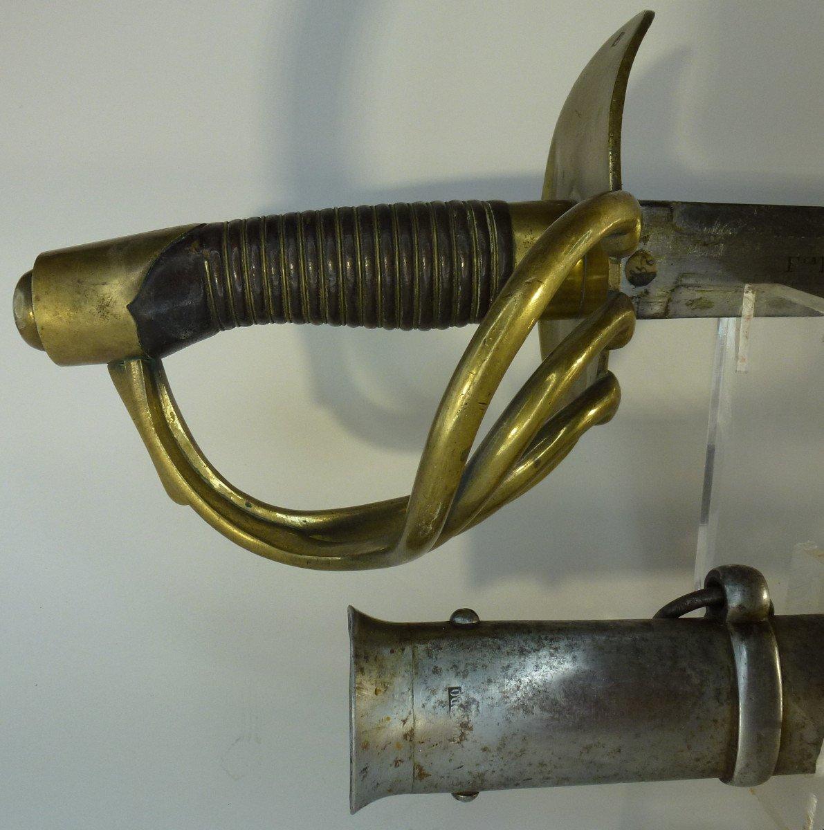 Sabre Cuirassier Espagnole XIXème-photo-3