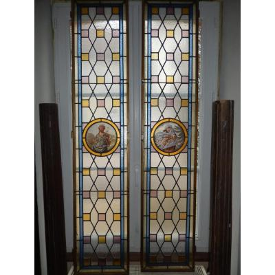 Window Doors, Stained Glass