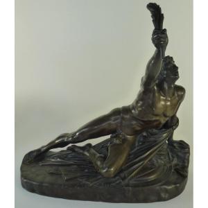 """ Le Soldat de Marathon"" bronze barbedienne"