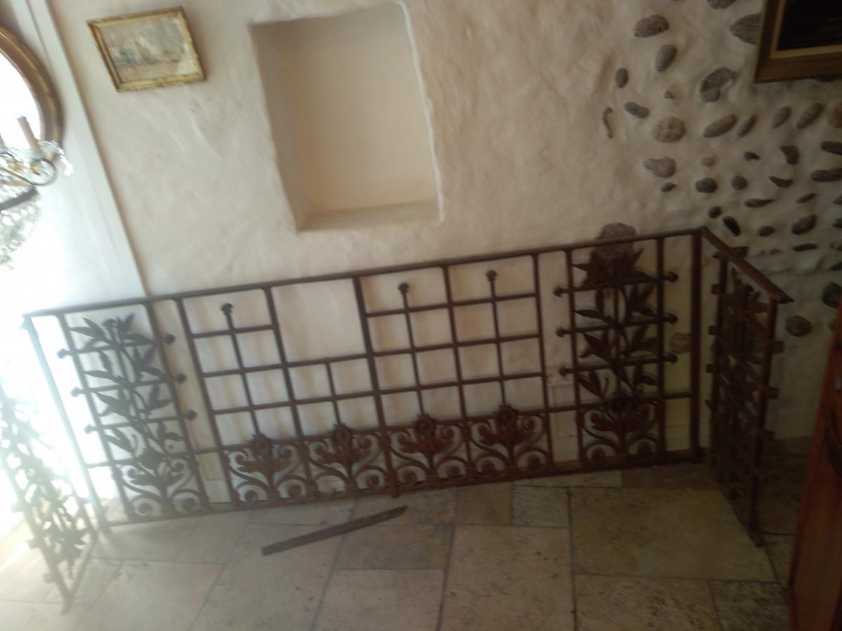 Ancien Balcon Ferronnerie XIX