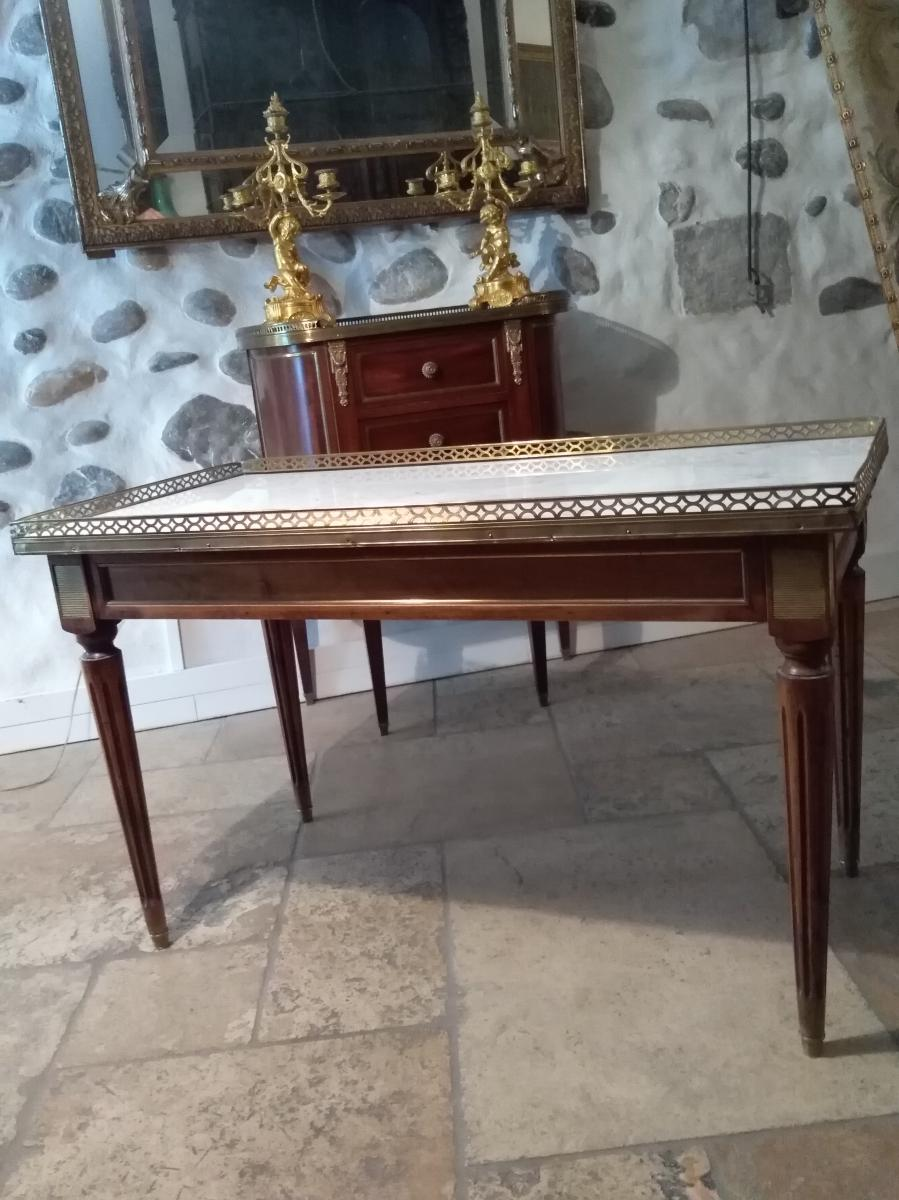 Table Basse Style Louis XVI